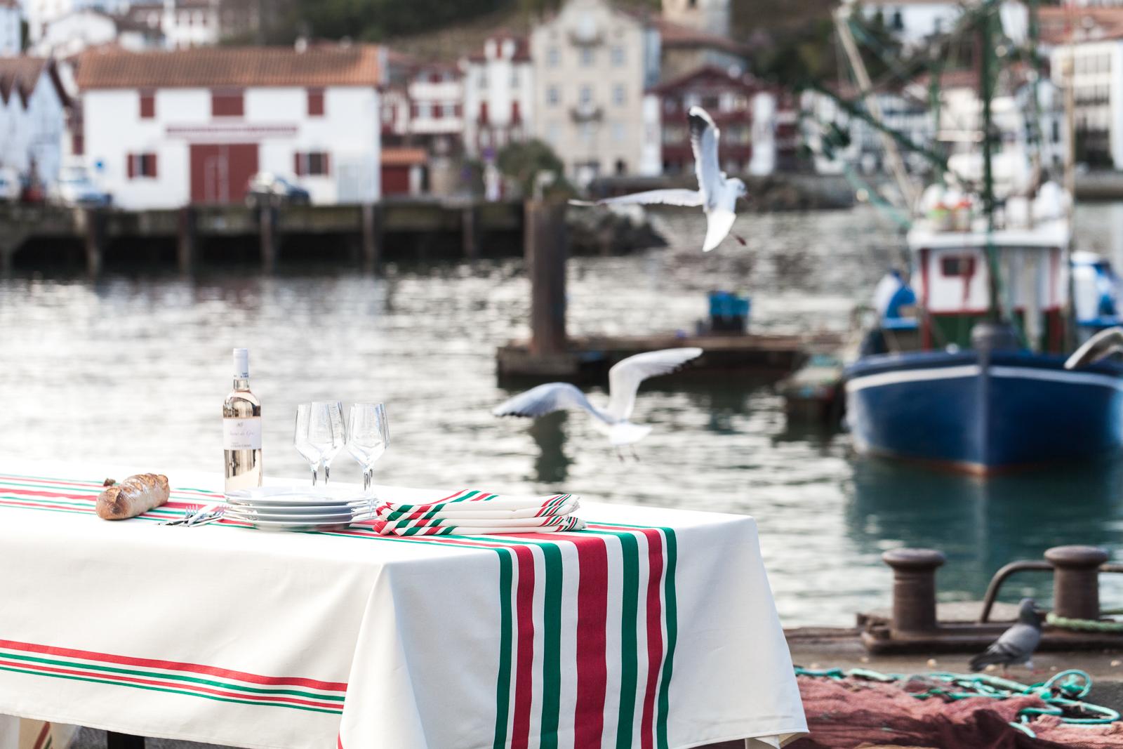Linge Basque Universel