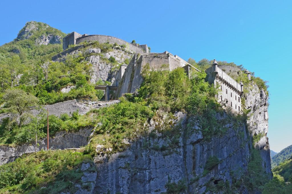 Fort du Portalet (Pyrenees Atlantiques, France).